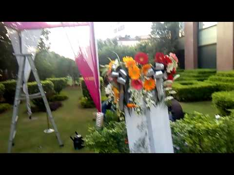 flower decoration for wedding gate n Stage in Lemon Tree Hotel 09891478183 BY DG Event .in thumbnail