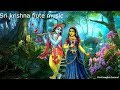 Beautiful Sri krishna flute music for Relaxation,Meditation, yoga cleansing your mind and body 33