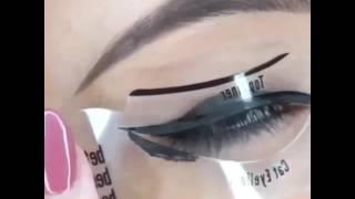 видео Трафарет для макияжа как пользоваться