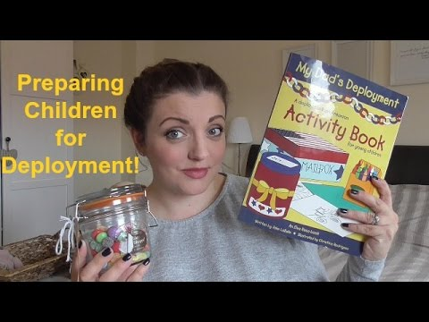 Preparing children for deployment | Living the mummy life
