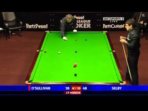 Snooker - 2008 Premier League - Final - O'Sullivan vs Selby - Full Match