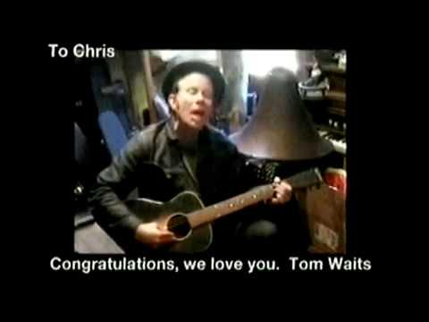 Tom Waits - UK Music Hall of Fame 141104