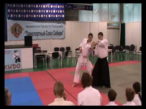 Novosibirsk seminar for beginners in Aikido part 1