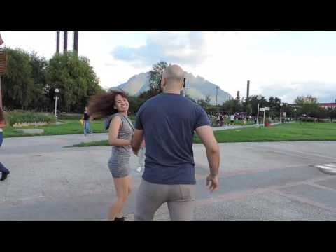 Monterrey international flash mob west coast swing 2