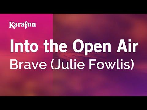 Karaoke Into The Open Air -  (Julie Fowlis) *