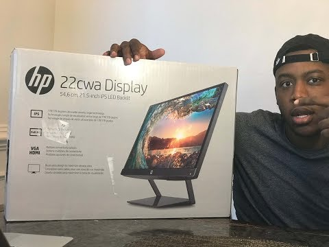 HP Pavilion 21.5-Inch IPS LED HDMI VGA Monitor Unboxing/Review