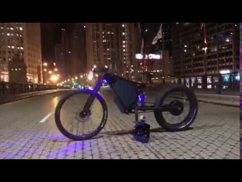 Austin Motors: CORBINFIBER 80MPH - the world's fastest electric bike