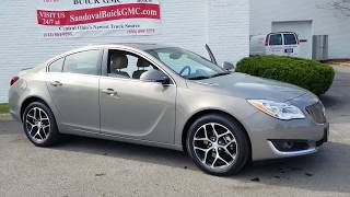 Pre Owned Vehicle Spotlight: 2017 Buick Regal #G1727A