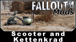 Fallout 4 Mods - Scooter and Kettenkrad