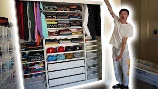 TURNING MY SPARE BEDROOM INTO A CLOSET!! (TURNS OUT AMAZING)