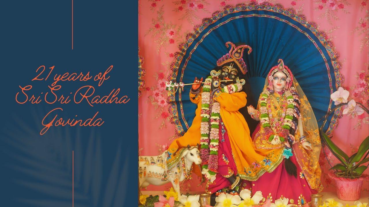 Installation of Sri Sri Radha Govinda - Video