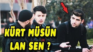 IN TURKEY KURDS SOCIAL EXPERIMENT OF TURKISH RACISM! ( VERY EMOTIONAL )