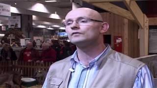 Mr Herault, éleveur de chèvres dans les Deux-Sèvres (79) interviewé au Salon de l'Agriculture...