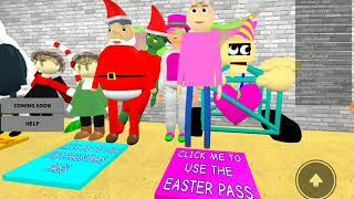 Roblox Baldis Basics EASTER BUNNY BADGE!!!!!!!