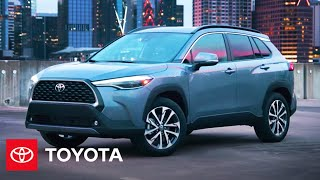 homepage tile video photo for 2022 Corolla Cross Overview | Toyota