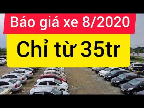 Báo giá xe tháng 8/2020 giá rẻ chỉ từ 35tr có ô tô đi Khải Đăng ô tô cuc 0326062789 0983922866