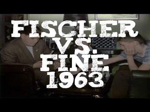 Fischer vs. Fine - My Favorite Chess Games No. 5 Evans Gambit