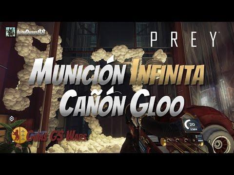 PREY | MUNICION INFINITA CAÑÓN GLOO | GUIA ESPAÑOL