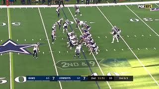 Dak Prescott TD Pass to Tavon Austin | NFL | Cowboys Vs. Rams 2019