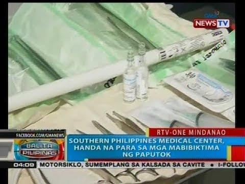 BP: Southern Philippines Medical Center, handa na para sa mga mabibiktima ng paputok