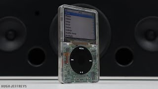 "Custom Transparent iPod Classic 5th Gen - 256GB SSD & ""Nokia Battery life"""
