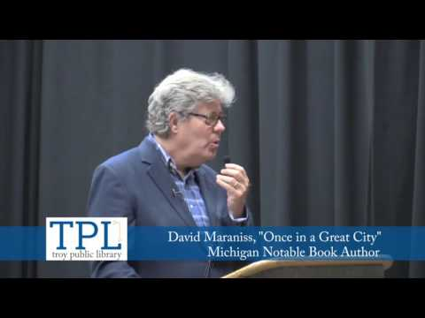 """""""Once in a Great City"""" with Author David Maraniss"""