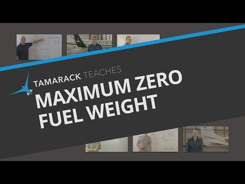 Airplane Maximum Zero Fuel Weight Explained