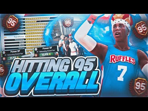 I GOT 95 OVERALL WITH A STRETCH CLEANER! REBIRTH BEST BUILD + DOUBLE VIP SPIN UNLOCKED! NBA 2K19