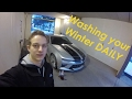 How to Wash Your Car in the Winter + DIY FOAMCANNON