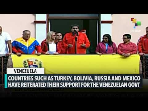 Venezuela Receives International Support