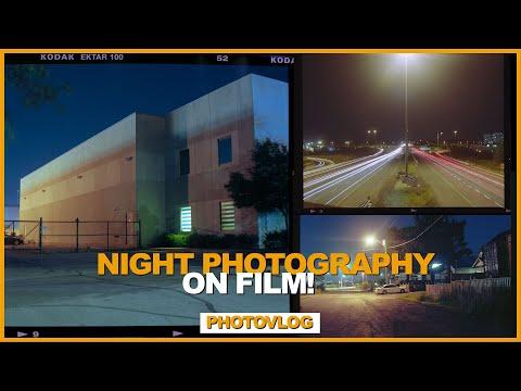NIGHT Photography on FILM // MAMIYA RB67