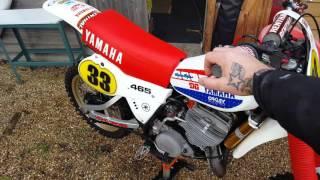Yamaha yz 465 1981 h total restore. Bike porn