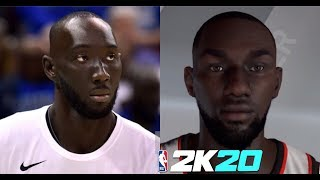 NBA 2K20 How To Create Tacko Fall's Face