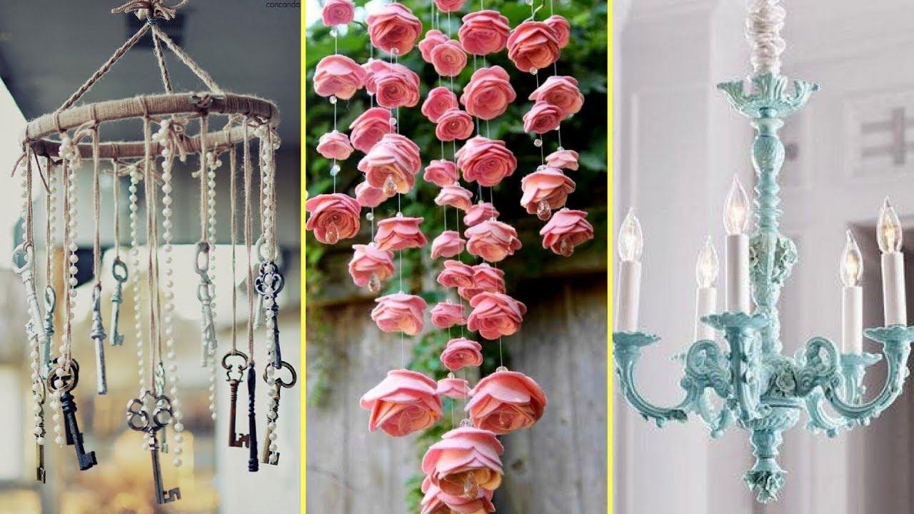 Shabby Chic Style Chandelier Decor Ideas Home Decor