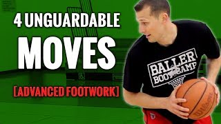 Improve your footwork! 4 advanced basketball moves for kids