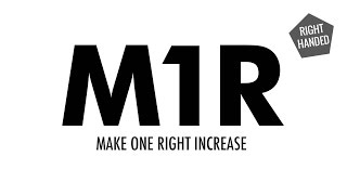 Make One Right Increase (M1R):: Knitting Increase :: Right Handed