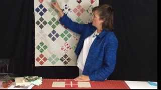 """Baby Quilt Pattern """"daisy Baby"""" With Moda Charm Pack """"25th And Pine"""""""