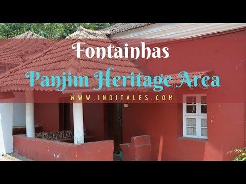 Panjim Heritage Walk Through the Streets of Fontainhas