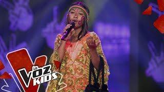 Sara canta Por Ti Volaré – Audiciones a Ciegas | La Voz Kids Colombia 2019