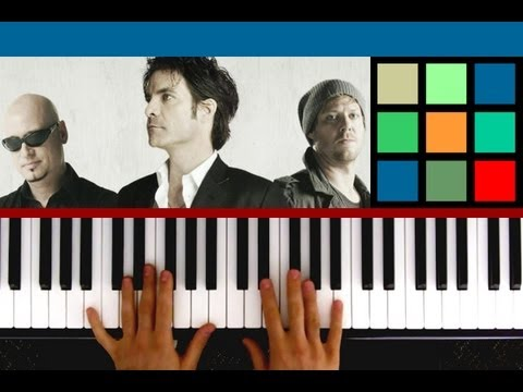How To Play Drops Of Jupiter Piano Tutorial Train Youtube