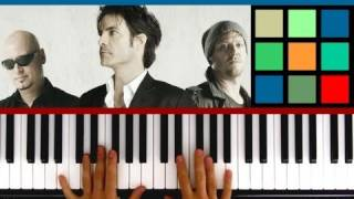 "How To Play ""Drops Of Jupiter"" Piano Tutorial (Train)"