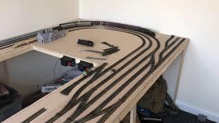 Oo göstergesi modeli demiryolu inşa