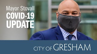 Mayor Stovall COVID-19 Update for April 30, 2021