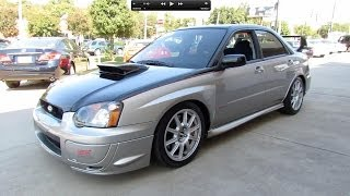 2005 Subaru Impreza WRX STI Start Up, Exhaust, and In Depth Review