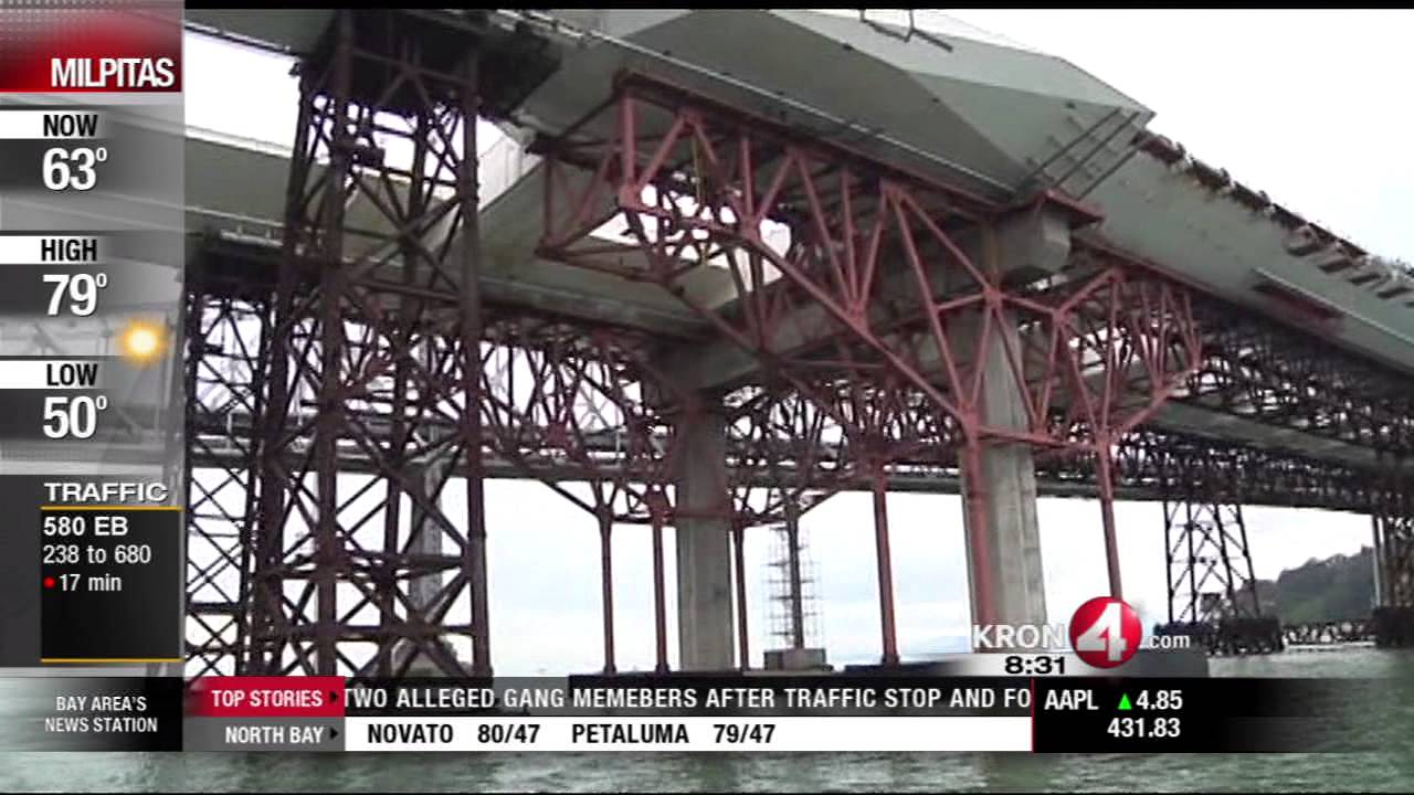 MTC Investigates Faulty Bay Bridge Bolts