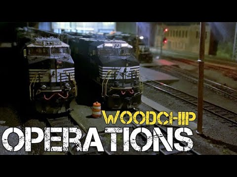 Realistic Operations - Woodchips & Paper Mills In HO