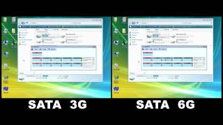 Tweak.dk SATA 3Gbps Vs 6Gbps performance