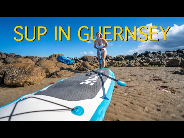 Stand Up Paddleboarding in GUERNSEY | TOP 5 LOCATIONS