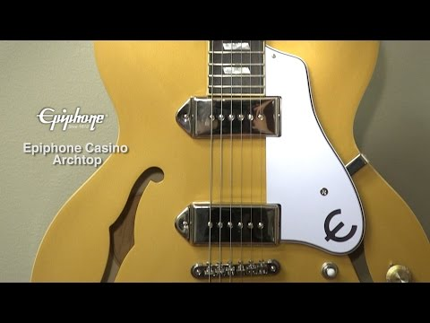 Epiphone Casino Goldtop Guitar Review by Sweetwater
