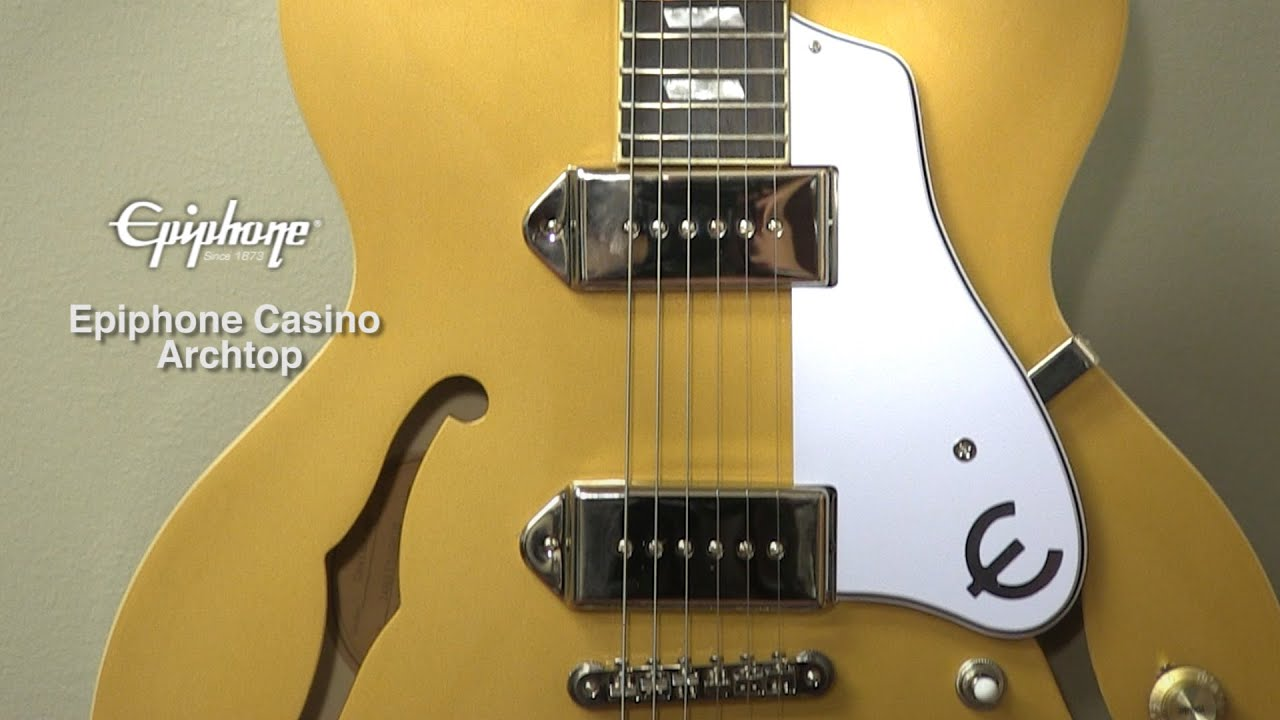 Epiphone Casino Review